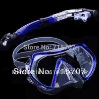 Scuba Blue Free Dive Low Volume Silicone Mask & Nautilus Snorkel Set  19066