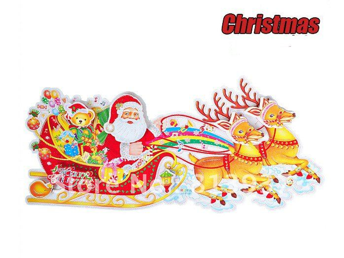 Christmas yard decorations - Compare Prices On Santa Sleigh Decoration Buy Low Price Santa