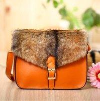 2012 new arrival winter fur bag, Korean style handbags, women's bag,handbag,messenger bag+free shipping