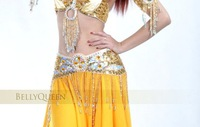 Женская одежда Newest Style #QC2069 Performance Belly Dance Costume 3Pcs, 5Colors Available, S/M/L