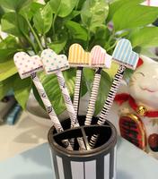 free shipping Music accessories music gift music stationery multicolour piano rubber head pencil