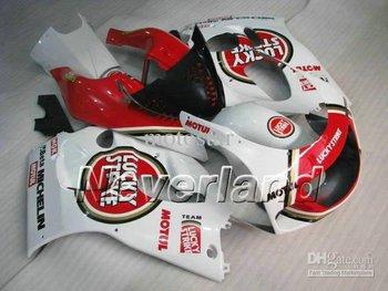 LUCKYSTRIKE fairing kit FOR SUZUKI GSXR 600 750 1996 1997 1998 1999 2000 GSXR600 GSXR750 96 97 98 99