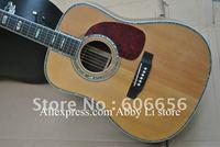 2012 NEW Acoustic Dreadnought Guitar Spruce Top/Rosewood Back/ebony fingerboard/ebony Bridge guitar China Guitar