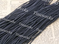 Sales promotion!!! FREE SHIPPING 65 Meters Black Shock Cord Stretch Elastic Cord Beading Cord 2.0MM