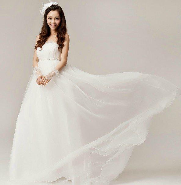 Korean white wedding dress wedding dress korean style