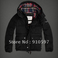free shipping,2012Winter,New fashion,men's down coat/down Jackets/outerwear,6 colors,size S M L XL-D5730,black