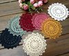 Free Shipping New 4.3 inch Hand made Round crochet doily , diameter : 11cm , 100% cotton