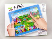 Free Shipping Y Pad Series English educational toys for children,educational toys ,kids tablet  farm 2 style mixed,30PCS/Lot