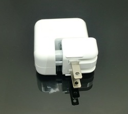 High Quality 12W 2.4A USB Wall Charger For ipad 4/ipad mini/iPhone 5 5g 5th Free shipping(China (Mainland))
