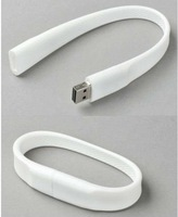 White Bracelet Model USB 2.0 Flash Memory Stick Pen Drive 2GB 4GB 8GB 16GB 32GB LU115