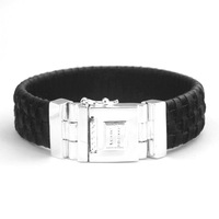 New style buddha to buddha fashion personality black pilotaxitic bracelet