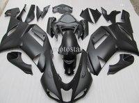 Body FOR KAWASAKI Ninja ZX6R ZX-6R 636 07-08 6R 07 08 2007 2008 matt Black Full Fairing