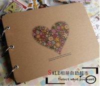 Pastels, pen 204 corner posts handmade diy paste type photo album photos album clipbook