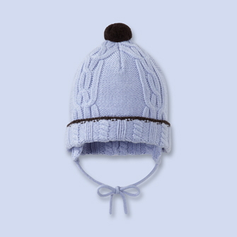 2012 free shipping Jacadi male child classic twisted garland bandage knitted hat