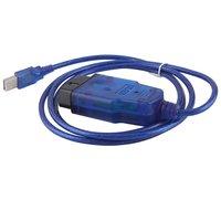 VAGCOM USB KKL 409.1 Cable For AUDI Volkswagen OBD2 OBDII Car Diagnostic Scanner