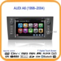 Car DVD Player For Audi A6(1998-2004) With GPS Navigation A6 Car Radio Multimedia Navigation 3G USB Host(AC1273)