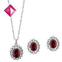 Neoglory Crystal Auden Rhinestone Jewelry Sets Necklace & Earrings Wedding Gifts Wholesale Brand Sale Free Shipping