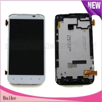 For HTC Sensation XL  X315e G21 LCD digitizer with frame assembly 100% Gurantee DHL free shipping