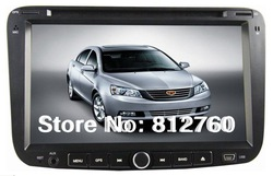 On sales!!Emgrand EC7 2012 Car dvd player with GPS Navigation TV Bluetooth Radio V-CDC Russian menu language,3G is optional(China (Mainland))
