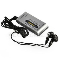 Portable AM/FM 2 Band Pocket Radio Receiver +Earphone S FREE SHIPPING