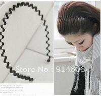 Temperament hair ornament candy color high elastic wave hair hoop hairpin head hoop men and women C010 universal