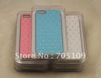 Free shipping new Luxury Bling Diamond Star Electroplate Hard Case Cover For iPhone 5 5th 5G with Retail packaging