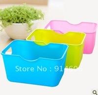 Mini desktop rectangle receive box sundry sorting box set content box D948