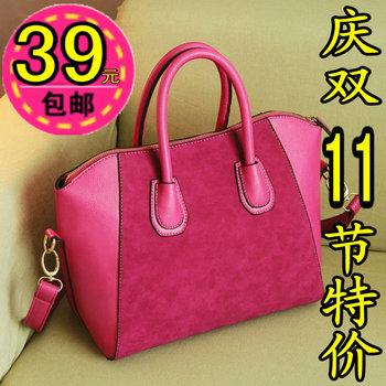 2012 fashion bags women's handbag autumn and winter nubuck leather handbag messenger bag