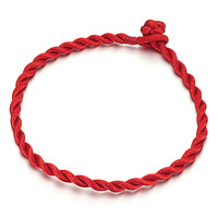Jewelry accessories apotropaic red hand-rope lucky rope n123
