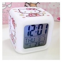 Kt colorful bell k1 colorful small alarm clock clock colorful bell 140 heterochrosis clock