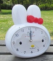 Chick little penguin kitty cat rabbit child alarm clock voice alarm clock