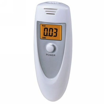 Free shipping Alcohol Tester with airway & backlight LCD breathalyzer alcohol tester/alcohol detector