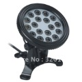 LED Pool Light, Type 6; Dia: 170mm, 18pcs (R-6,G-6,B-6) Power LEDs/1W, 23W, 24V DC; IP68 LPL-6-18P-24V