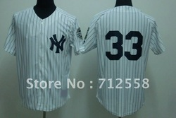 Honest First - Free Shipping #33 Nick Swisher Jersey Authentic Baseball Jersey Softball Jerseys Hot Sale(China (Mainland))