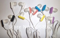 Wholesale 50pc/lot In-ear candy item earphones headphone headsets for Mp3 MP4 MP5 PSP drop shipping new arrvial