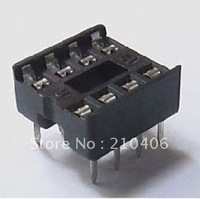 100pcs /a bag Electrical outlet of chip of base of DIP  8PIN IC