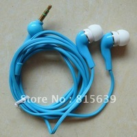 Free shipping  10pcs /lot colorful earphone 3.5mmEarphone In-ear Headphone Earpiece Gourd Cable Desigh for Mp3 Mp4 Mp5with PEbag