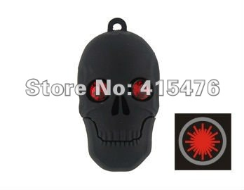 Wholesale Free shipping Halloween Ghost Head USB 8GB Flash Memory Stick Pen Drive Disk for Laptop Computer