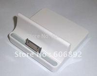 Higi-Quality USB socle Base Dock Charger for iPhone iPad 16GB 32GB 64GB Wi-Fi 3G Free & Drop Shipping 2pcs/lot
