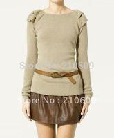 2012 autumn&winter new corea falbala knitwear
