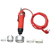 Free shipping,Electric Hand held Screw Capping Machine,Easy operation manual capper,bottle sealing machine