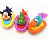 Free shipping cute baby bath toys sassy swim Penguin/Pelican/Dinosaur inspire exploration