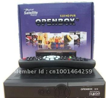 Free Shipping   DVB-S2 OpenBox S10 hd pvr satellite receiver