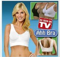free shipping 50pcs/lot Ahh Bra Sexy Bra women bra yoga bra Slimming Underwear Breast Massage Seamless Outlining Your Figure