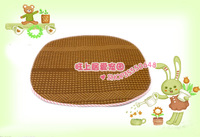 Pet princess bed mat pad linen rattan seats