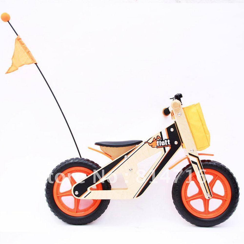 Free shipping wooden running bike toy(China (Mainland))