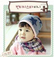 2012 NEW, wholesale 5 PCS./lot autumn and winter warm baby cap hat 9704