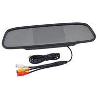"New 4.3"" 4.3 Inch TFT Car LCD Screen Rear View Rearview DVD AV Monitor Mirror #3"
