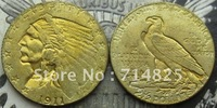 1911 $ 2 1/2 Indian Head Gold Coin