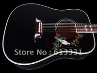 2012 NEW DOVE ACOUSTIC /RARE BLACK FINISH  guitar